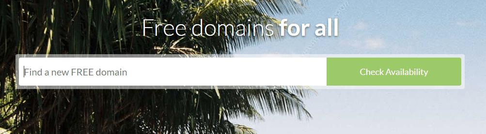 cách đăng ký tên miền miễn phí