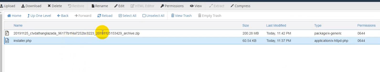 nhân bản web với duplicator